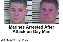 Marines Arrested After Attack on Gay Man