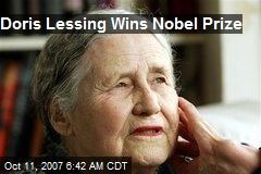 Doris Lessing Wins Nobel Prize