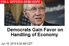 Democrats Gain Favor on Handling of Economy