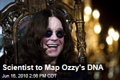 Scientist to Map Ozzy's DNA