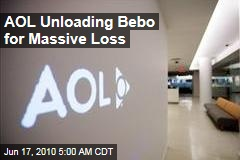 AOL Unloading Bebo for Massive Loss