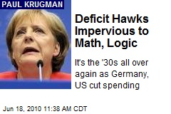 Deficit Hawks Impervious to Math, Logic