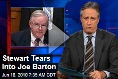 Stewart Tears Into Joe Barton