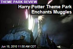 Harry Potter Theme Park Enchants Muggles