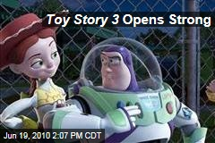 Toy Story 3 Opens Strong