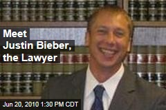 Meet Justin Bieber, the Lawyer