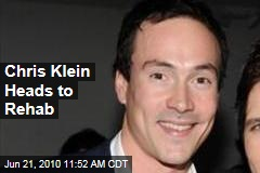 Chris Klein Heads to Rehab