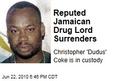 Reputed Jamaican Drug Lord Surrenders