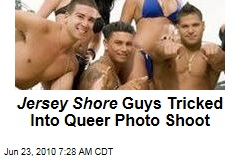 Jersey Shore Guys on 'Queer' Mag Cover