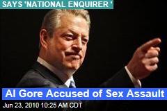 Al Gore Accused of Sex Assault