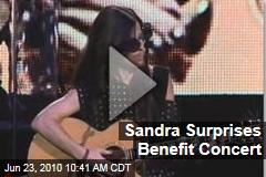 Sandra Surprises Benefit Concert