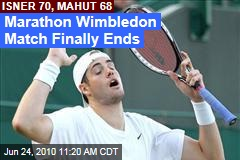 Marathon Wimbledon Match Finally Ends