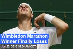 Wimbledon Marathon Winner Finally Loses