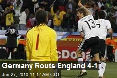 Germany Routs England 4-1