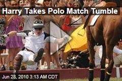 Humpty Harry Takes NY Polo Tumble