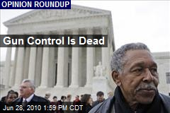 Gun Control Is Dead