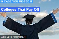 Colleges That Pay Off