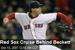 Red Sox Cruise Behind Beckett