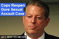 Cops Reopen Gore Sexual Assault Case