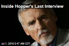 Inside Hopper's Last Interview