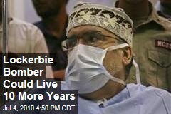Lockerbie Bomber Could Live 10 More Years