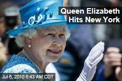 Queen Elizabeth Hits New York