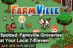 Spotted: Farmville Groceries At Your Local 7-11