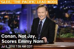 Conan, Not Jay, Scores Emmy Nom