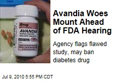 Avandia Woes Mount Ahead of FDA Hearing