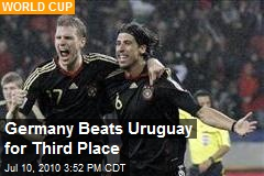 Germany Beats Uruguay for Third Place