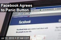 Facebook Agrees to Panic Button