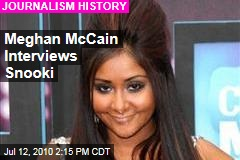 Meghan McCain Interviews Snooki