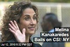 Melina Kanakaredes Bails on CSI: NY