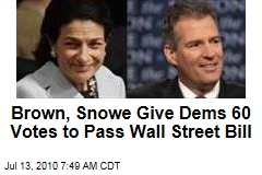 Dems Reach 60 Votes on Wall Street Reform Bill