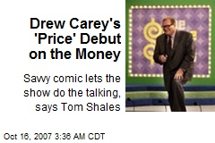 Drew Carey's 'Price' Debut on the Money