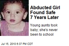 Abducted Girl Found Safe 7 Years Later
