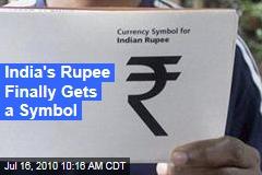 India's Rupee Finally Gets a Symbol