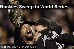 Rockies Sweep to World Series