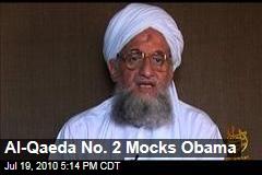 Al-Qaeda No. 2 Mocks Obama