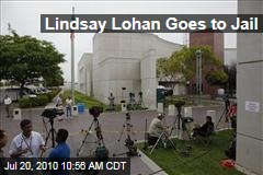Lindsay Lohan Goes to Jail