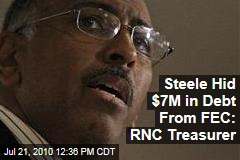 Steele Hid $7M in Debt From FEC: RNC Treasurer