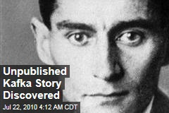 Unpublished Kafka Story Discovered