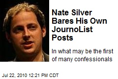 Nate Silver: My JournoList Posts Were Boring