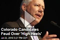 Colorado Candidates Feud Over 'High Heels'