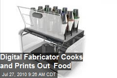 Cornucopia: Digital Fabricator able to 'print food