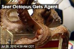 Seer Octopus Gets Agent