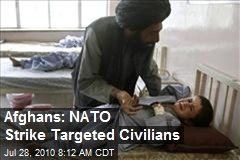 Afghans: NATO Strike Targeted Civilians