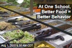 At One School, Better Food = Better Behavior