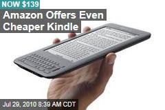 Amazon Unveils Cheaper Kindle