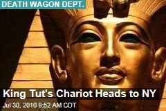 King Tut's Chariot Heads to NY